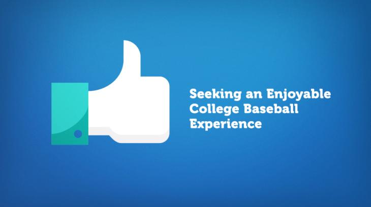 Enjoyable College Baseball Experience