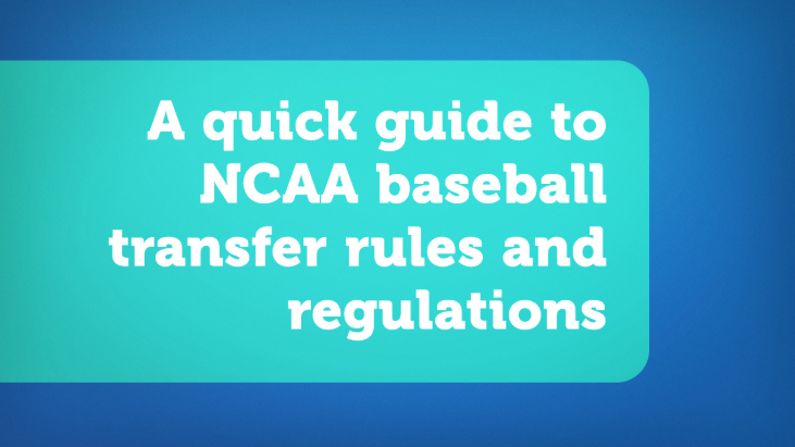 NCAA Baseball Transfer Rules