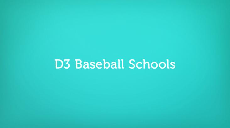 D3 Baseball Schools