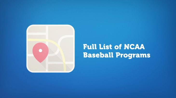 Baseball College Teams