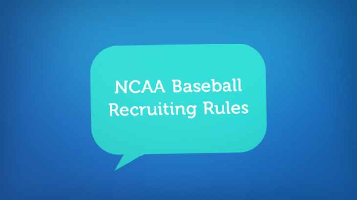 NCAA Baseball Recruiting Rules You Need to Know