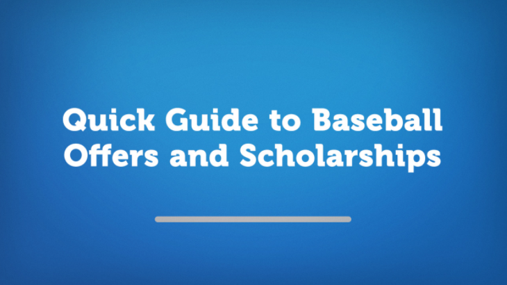 Quick Guide to Baseball Offers and Scholarships